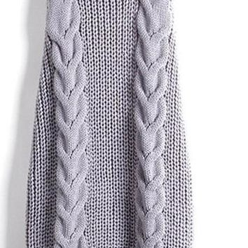 Summer New Turtleneck Sleeveless Long Virgin Killer Sweater Knitted Sexy Backless Women Sweaters And Pullovers