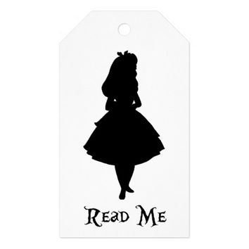 Alice in Wonderland Birthday Favor | Gift Tags