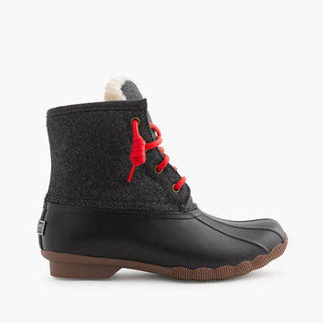 Women's Sperry For J.Crew Shearwater Flannel Boots
