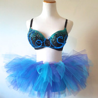 House Music El Wire Rave Bra / EDC Outfit