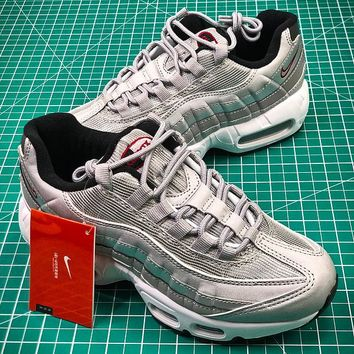 Nike Air Max 95 Silver 918359-001 Sport Running Shoes - Best Online Sale