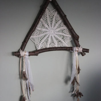 Natural Bohemian Dream Catcher Wall Hang