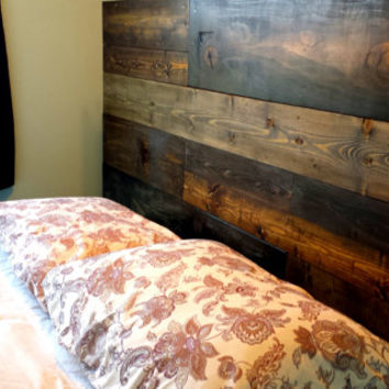 Custom Made Rustic Headboard for Any Bed || King Queen Full Twin