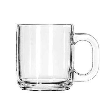 Libbey 5201 10 Oz Crystal Coffee Mug 12/Case