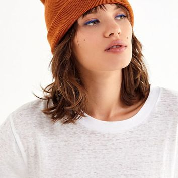 Jersey Knit Basic Beanie | Urban Outfitters