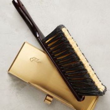 Brass Dustpan & Brush Set by Fuller Brush Company Black/brass One Size Office