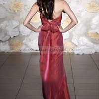 Bridal Party Dresses - Empire Sweetheart Floor-length Ruffles Taffeta Bridesmaid Dresses / Evening Dresses / Prom Dresses @adress83 - Prom Dresses - Event Dresses - Special Occasion Dresses - Affordable Wedding Dresses Manufacturer