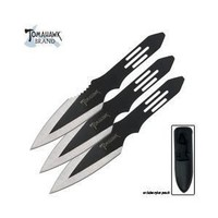 United Cutlery Tomahawk Throwing Knife Set (3-Piece), Black