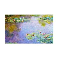 WATER LILIES COOL DECAL