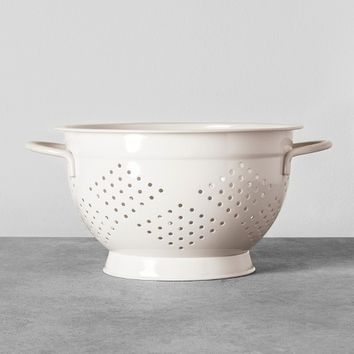 Steel Colander - Cream - Hearth & Hand™ with Magnolia