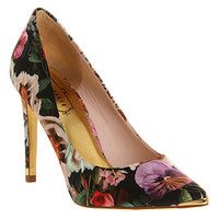 Ted Baker Luceey High Heel Tangled Floral Print Satin - High Heels