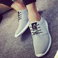 2016 New Spring Summer Men's Casual Shoes Flat