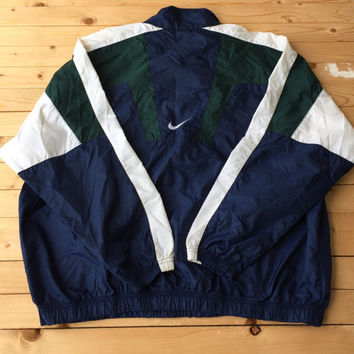 Vintage Nike Windbreaker Clothing Unisex Jacket Workout Running Gear retro Rain