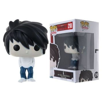 2018 Figure Toy -Anime Death Note L with Cake & Ryuk Vinyl Figure Toy Gifts Hot!