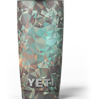 Abstract MultiColor Geometric Shapes Pattern Yeti Rambler Skin Kit