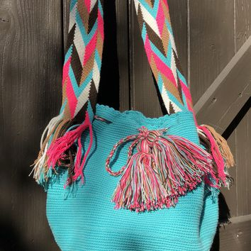 ARTIC BLUE WAYUU BAG
