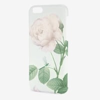 Distinguishing rose iPhone 6 case - Mint | Gifts for Her | Ted Baker UK