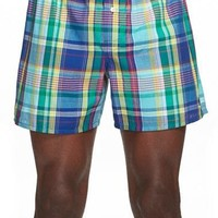 Men's Polo Ralph Lauren Plaid Cotton Boxers,