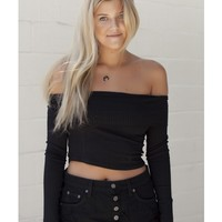 Issy Top (Black) - Top - Shop