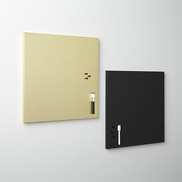 matte black magnetic-dry erase board