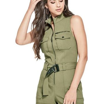 Axel Moto Romper at Guess