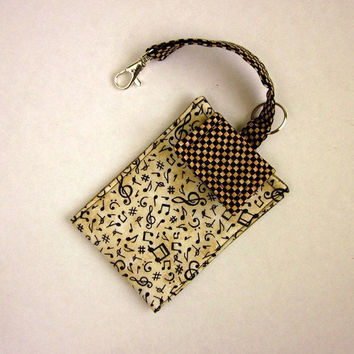 IPhone Holder Wristlet Gadget Case Music by EweniqueEssentials