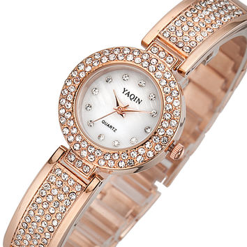 Comfortable Vintage Fashion Quartz Classic Watch Round Ladies Women wristwatch On Sales = 4432533956
