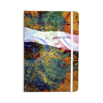 "AlyZen Moonshadow ""DISCOVER 3"" Orange Teal Everything Notebook"