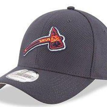Atlanta Braves New Era 39THIRTY Diamond Era Tomahawk Stretch Fit Flex Cap Hat