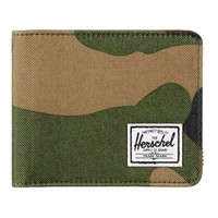 Herschel Supply Hank Woodland Camo Bifold Wallet