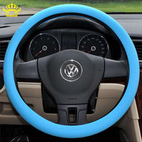 High quality Universal Soft Silicone steering-wheel,Shell Skidproof Odorless Eco steering wheel,practical steering wheel cover