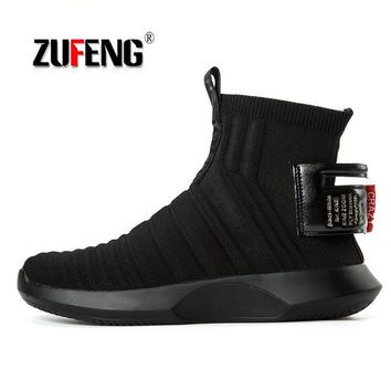 High-quality Socks Sneakers Men Running Shoes For Men Outdoor Breathable Sport Jogging Shoes Athletic Sports Shoes Comfortable