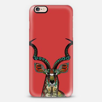 antelope kudu red iPhone 6s case by Sharon Turner | Casetify