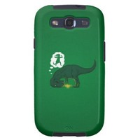 T Rex Genie Lamp Galaxy SIII Cases