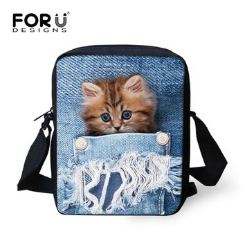 Ladies Messenger Cat Variety Backpack