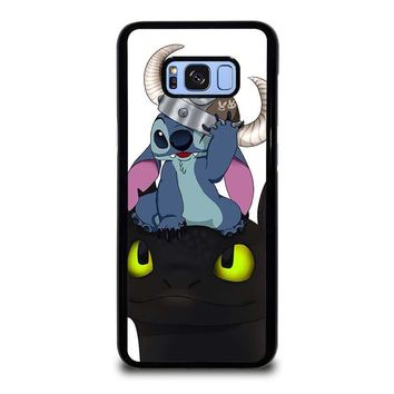 STITCH AND TOOTHLESS Samsung Galaxy S8 Plus Case Cover