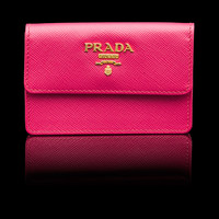 Prada E-Store · Woman · Wallets · Business Card Holder 1M0881_QWA_F0505