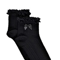 Molly Lace Trim Ankle Socks