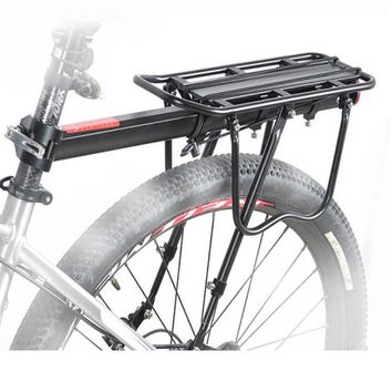 TERAYSUN  Aluminum Alloy Bicycle Rear Rack Adjustable Pannier Bike Luggage Cargo Rack Bicycle Carrier Racks