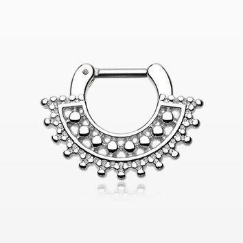 Divine Filigree Septum Clicker