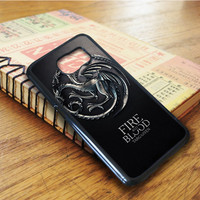 Game Of Thrones House Targaryen Samsung Galaxy S6 Edge Case
