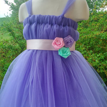 Empire waist tutu – flower girl tutu dress – baby tutu dress – wedding tutu dress – party tutu dress – birthday tutu dress – tutu dress