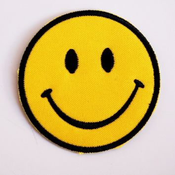 Smiley Face Classic Patch