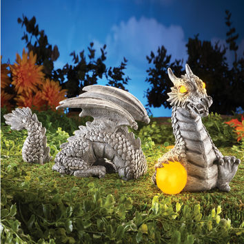 Solar Dragon Garden Sculpture