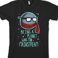 Black T-Shirt | Funny Planets Geek Shirts