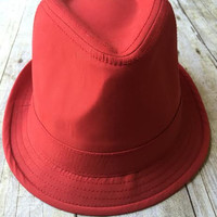 Come as You Are Hat-Red