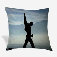 Freddie Mercury Queen Rock Band Pillow Case