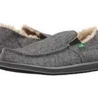Sanuk Vagabond Chill-Charcoal Wool