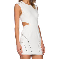 NBD x Naven Twins Arch Nemesis Dress in Off White | REVOLVE