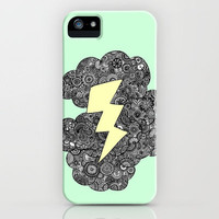 Storm Cloud iPhone Case by lush tart | Society6